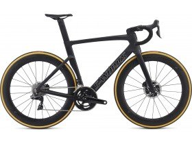 Specialized S-Works Venge Disc DI2 2019 Road Bike in Satin Black / Silver Holo / Clean