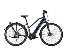 Kalkhoff Endeavour 5.I Move 2019 Women's Electric Bike in Black and Blue