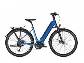 Kalkhoff Endeavour 5.S XXL 2019 Step-Through Electric Bike in Blue