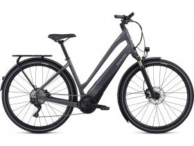 Specialized Turbo Como 5.0 2019 Electric Bike in Charcoal Black and Chrome