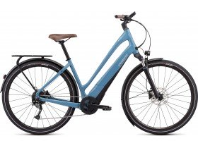 Specialized Turbo Como 4.0 2019 Electric Bike in Storm Grey, Black and Chrome