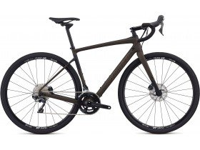 Specialized Diverge Comp 2019 Adventure Road Bike in Satin Brown Tint, Black and Copper