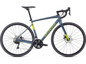 Specialized Diverge E5 Comp 2019 Adventure Road Bike in Satin Battleship and Hyper