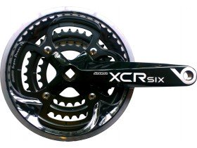Suntour XCR6 9-Speed SQ Taper Chainset