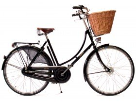 Pashley Princess Sovereign Classic Hybrid Bike in Green