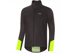Gore C5 Gore-Tex Shakedry 1985 Viz Waterproof Jacket in Black and Neon Yellow