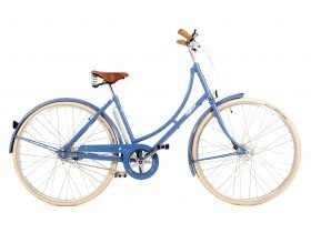 Pashley Poppy Women's Classic Hybrid Bike in Pastel Blue