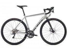 Genesis CDA 10 2018 Adventure Road Bike in Silver