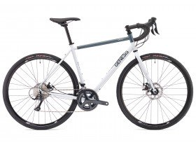Genesis Croix De Fer 10 2018 Adventure Road Bike in White