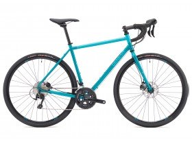 Genesis Croix De Fer 30 2018 Adventure Road Bike in Blue