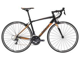 Giant Contend 1 2018 Road Bike in Black and Orange