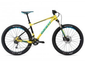 Giant Fathom 3 2018 Mountain Bike in Yellow and Black