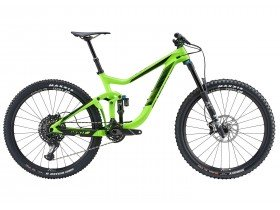 Giant Reign Advanced 1 2018 Mountain Bike in Green and Black