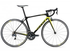 Giant TCR Advanced 0 2018 Road Bike in black and Yellow