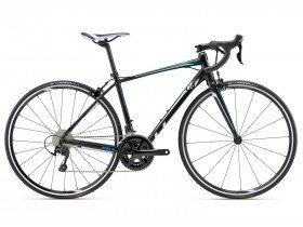 Liv Avail SL 1 Women's Road Bike in Black and White