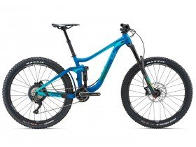 Liv Hail 2 2018 Women's Trail Mountain Bike in Teal, Blue and Green