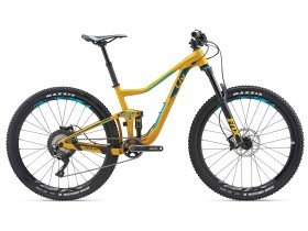 Liv Pique SX 2 2018 Women's Trail Mountain Bike in Yellow, Green and Blue