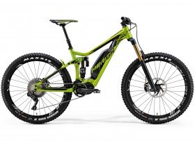 Merida Eone-Sixty 900E 2018 Electric Mountain Bike in Green and Black