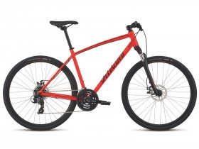 Specialized Crosstrail Mechanical Disc 2019 in Red
