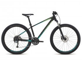 Specialized Pitch Comp 650b 2018 Trail Mountain Bike in Black and Mint Green