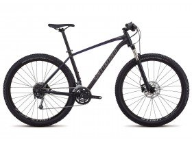Specialized Rockhopper Expert 2018 Trail Mountain Bike in Black and Acid Blue