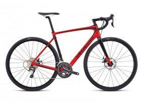 Specialized Roubaix 2018 Road Bike in Red and Black
