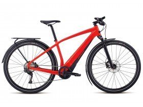Specialized Turbo Vado 4.0 2019 Electric Bike in Gloss Satin, Nordic Red and Black