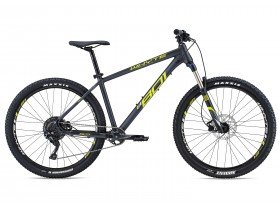 Whyte 801 2018 Trail Hardtail Mountain Bike in Black and Lime Green