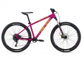 Whyte 802 Compact 2018 Trail Hardtail Mountain Bike in Magenta Pink and Tangerine