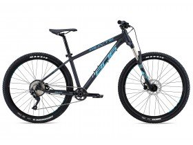 Whyte 806 Compact 2018 Trail Hardtail Mountain Bike in Black, Blue and Grey