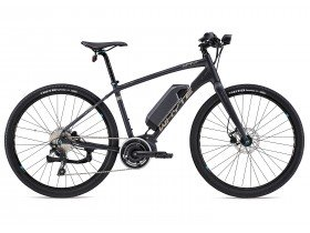 Whyte Clifton 2018 Electric Bike in Matt Granite, Silver and Blue