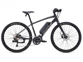 Whyte Highgate Women's 2018 Electric Bike in Matt Granite, Silver and Megenta