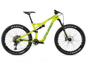 Whyte S-150C Works 2018 Trail Mountain Bike in Lime and Olive Green