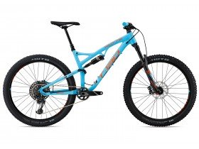 Whyte T-130 S 2018 Trail Mountain Bike in Blue and Orange