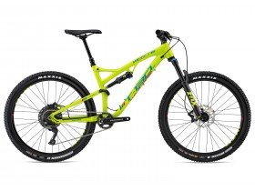 Whyte T-130 SR 2018 Trail Mountain Bike in Lime Green
