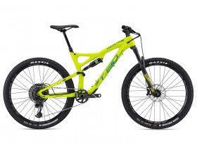 Whyte T-130C RS 2018 Trail Mountain Bike in Lime
