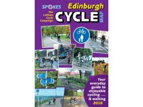 Spokes Cyclists' Map of Edinburgh 2016 Edition