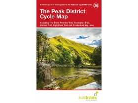Sustrans Cycle Map 26 the Peak District
