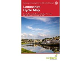 Sustrans Cycle Map 30 Lancashire 1ST Edition