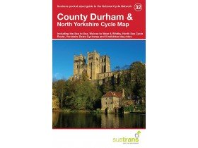 Sustrans Cycle Map 32 County Durham & North Yorkshire