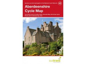 Sustrans Cycle Map 45 Aberdeenshire