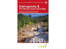 Sustrans Cycle Map 46 Cairngorms & the Moray Coast