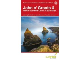 Sustrans Cycle Map 48 John O'groats & the North