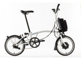 Brompton M6L 2019 Folding Electric Bike in Black