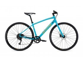 Whyte Carnaby Compact 2019 Hybrid Bike in Blue and Orange