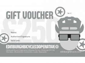 Edinburgh Bicycle Co-op Silver Gift Voucher - £250