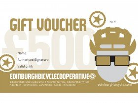 Edinburgh Bicycle Co-op Gold Gift Voucher - £500