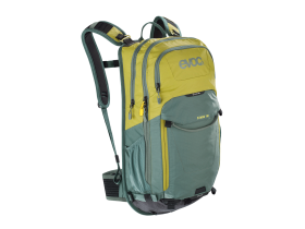 Evoc Stage 18 Litre Backpack in Moss Green and Olive