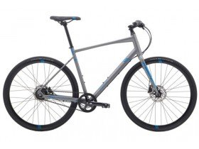 Marin Fairfax SC4 Belt 2018 Hybrid Bike in Charcoal Grey