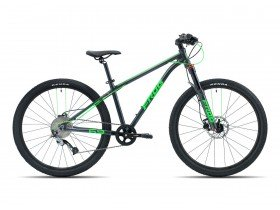 Frog 69 MTB Junior Mountain Bike in Metallic Grey and Green